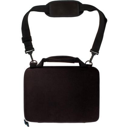 "iGadgitz Black EVA Hard Travel Case Cover for New Apple MacBook 12"" 2015 with Carry Handle & Detachable Shoulder Strap  Thumbnail 4"