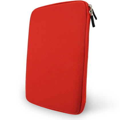 "iGadgitz Red EVA Hard Carry Case for Samsung Galaxy Tab A 9.7"" SM-T550 Sleeve Cover Pouch Thumbnail 3"