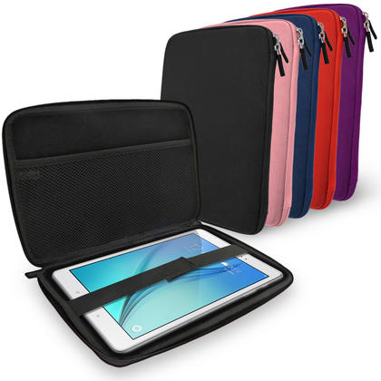 "iGadgitz Purple EVA Hard Carry Case for Samsung Galaxy Tab A 9.7"" SM-T550 Sleeve Cover Pouch Thumbnail 7"