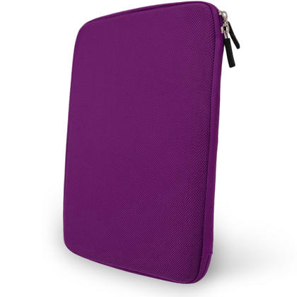 "iGadgitz Purple EVA Hard Carry Case for Samsung Galaxy Tab A 9.7"" SM-T550 Sleeve Cover Pouch Thumbnail 3"