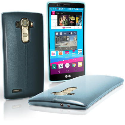 iGadgitz Glossy TPU Gel Skin Case Cover for LG G4 H815 2015 + Screen Protector Thumbnail 7