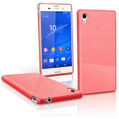 iGadgitz Glossy TPU Gel Skin Case Cover for Sony Xperia M4 Aqua 2015 E2303 + Screen Protector Thumbnail 4