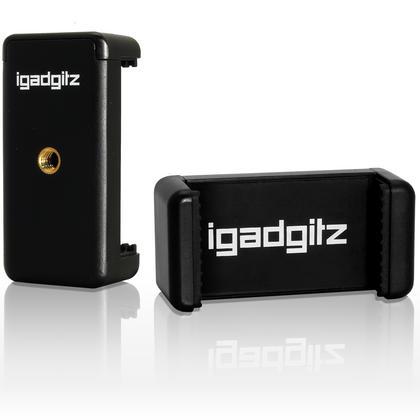 iGadgitz Universal Smartphone Holder Mount Bracket Adapter for Tripods and Selfie Sticks Thumbnail 1