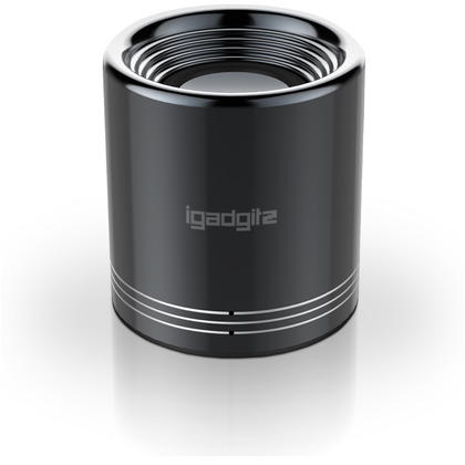 iGadgitz Al Series: 'Volcano' Portable Wireless Stereo Bluetooth 3.0 Aluminium Travel Speaker (3W Power with Rich Bass) Thumbnail 3