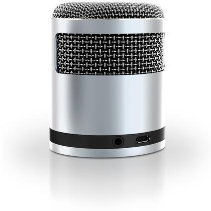 iGadgitz Al Series: 'Mic Idol' Portable Wireless Stereo Bluetooth 3.0 Aluminium Travel Speaker (3W Power with Rich Bass) Thumbnail 4