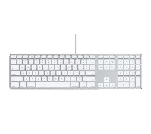 apple keyboard wired with numeric keypad a1243 uk keyboard ebay. Black Bedroom Furniture Sets. Home Design Ideas