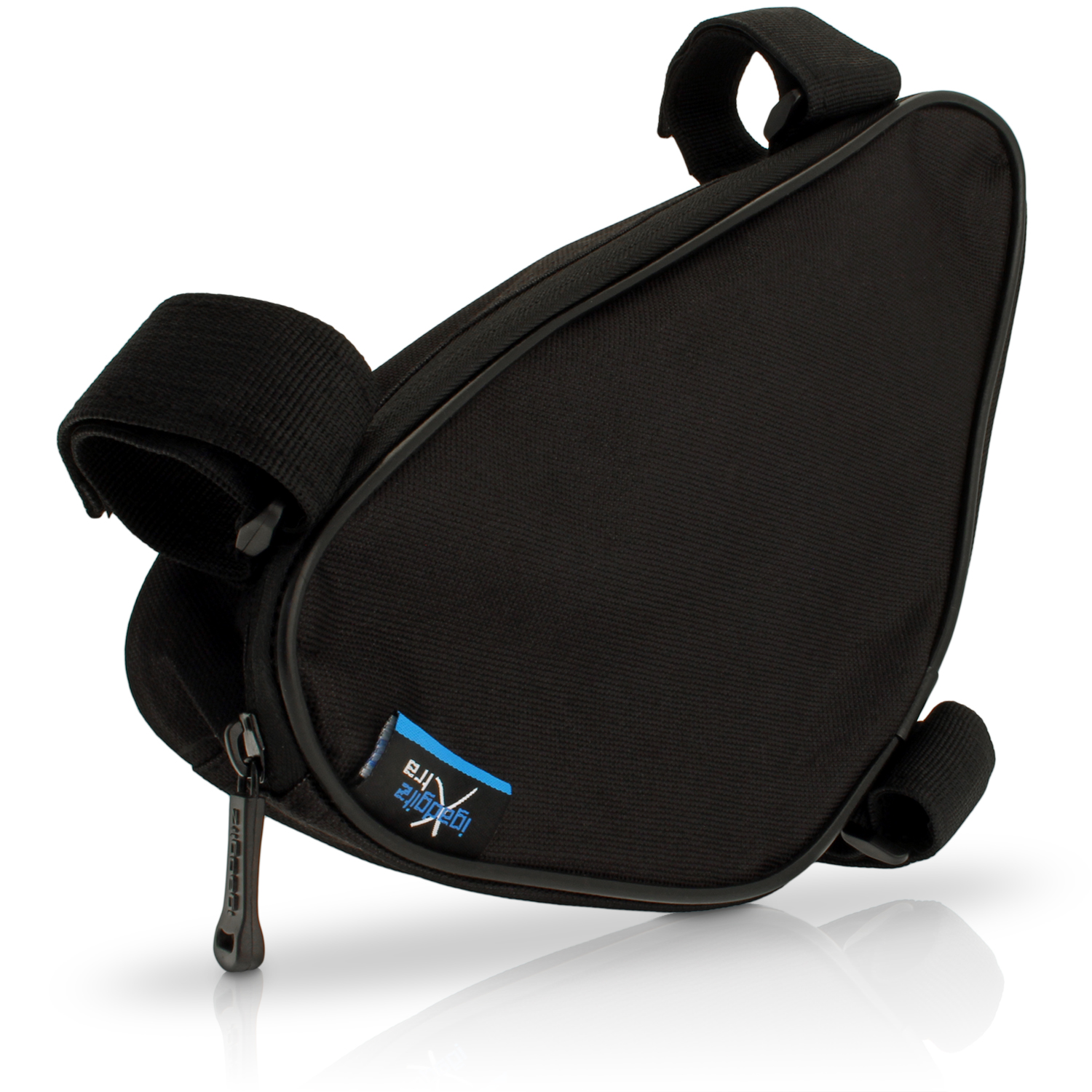 iGadgitz Xtra Water Resistant Corner Frame Triangle Top and Down Tube Bike Storage Bag Pannier Holder