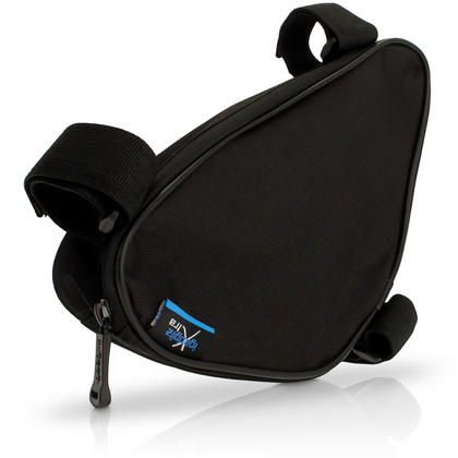 iGadgitz Xtra Water Resistant Corner Frame Triangle Top and Down Tube Bike Storage Bag Pannier Holder Thumbnail 1