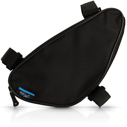 iGadgitz Xtra Water Resistant Corner Frame Triangle Top and Down Tube Bike Storage Bag Pannier Holder Thumbnail 3