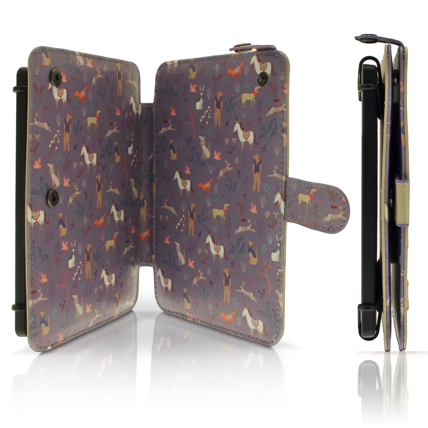 Details about PU Leather Skin Folio Case for Kobo Glo HD 2015, Touch 2 &  Aura Stand Flip Cover
