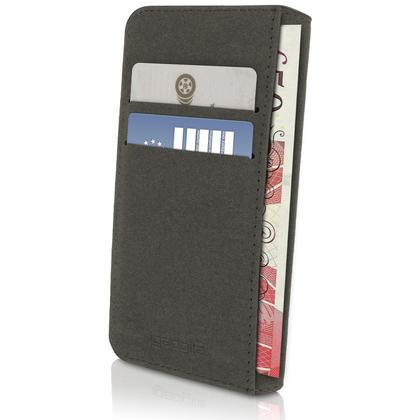 iGadgitz Wallet Flip PU Leather Case Cover for Motorola Moto E 2nd Generation 2015 XT1524 + Card Slots Screen Protector Thumbnail 3