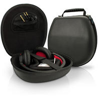 iGadgitz Black EVA Carrying Hard Case Cover for Headphones Headset (Sony, Philips, Pioneer, Marshall, Beats, Bose, etc)