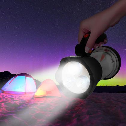 iGadgitz Xtra Lumin 4 in 1 Dynamo Rechargeable 3 LED Spotlight Torch & 10 LED Lantern + 1 Year Warranty Thumbnail 5