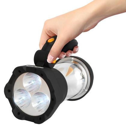 iGadgitz Xtra Lumin 4 in 1 Dynamo Rechargeable 3 LED Spotlight Torch & 10 LED Lantern + 1 Year Warranty Thumbnail 7