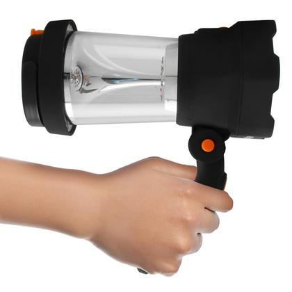 iGadgitz Xtra Lumin 4 in 1 Dynamo Rechargeable 3 LED Spotlight Torch & 10 LED Lantern + 1 Year Warranty Thumbnail 8