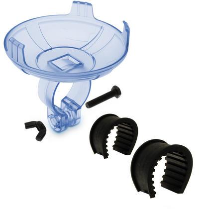 iGadgitz Plastic Handlebar Clamp Mount suitable for iGadgitz IGA-210 Waterproof Bluetooth Speaker (Speaker NOT Included) Thumbnail 4