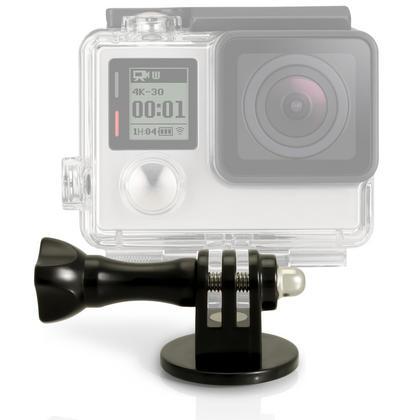iGadgitz Tripod / Monopod / Selfie Stick Adaptor Mount  with Thumb Screw & Nut for GoPro Hero6 Black, Fusion, Hero5 Black, Hero5 Session, Hero4, Hero3+, Hero3, Hero2, Hero1, Hero Session Thumbnail 1