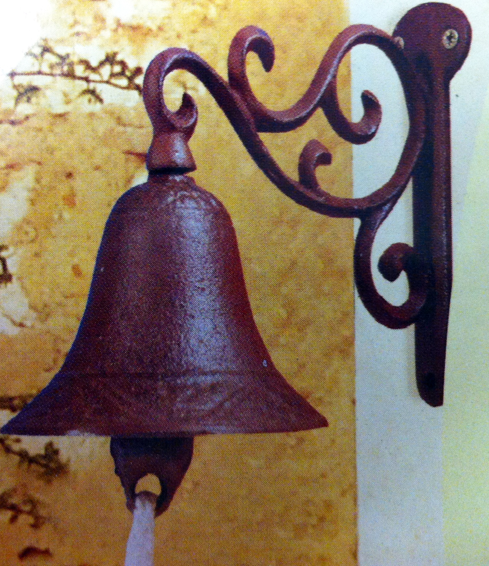 Real Cast Iron Doorbell With Bracket