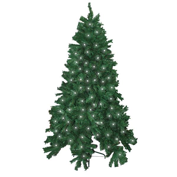 Pre Lit 6ft Christmas Tree Amp Stand 480 Tip 120 Led Multi