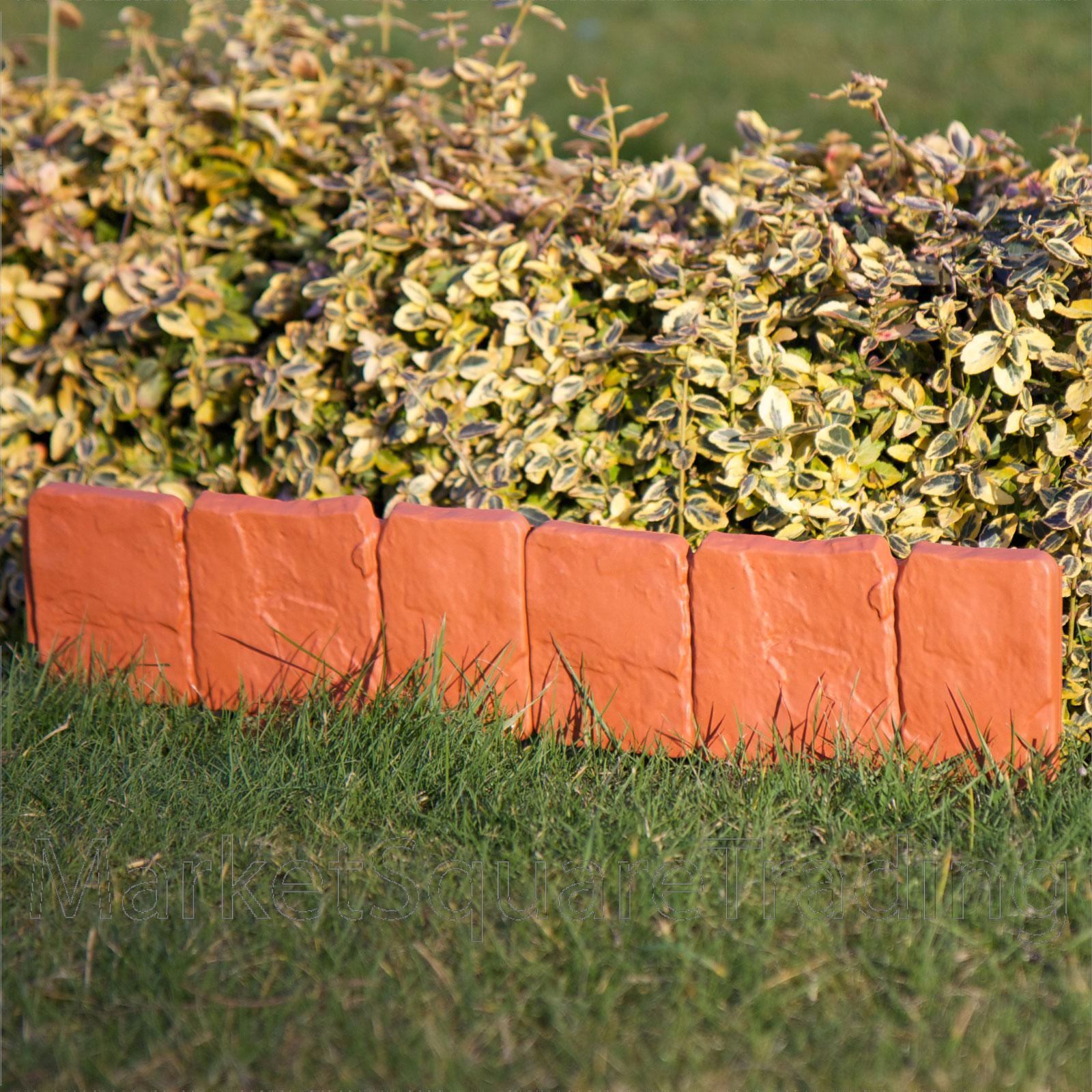 4 border edging fence lawn border fence garden grass driveway