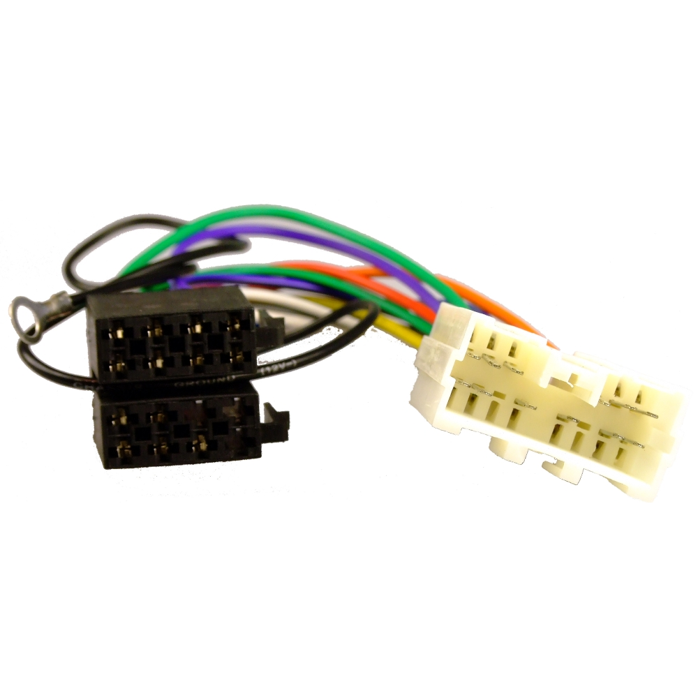 Mitsubishi L200 07-13 ISO Adaptor Lead Wiring Car Radio Harness ...