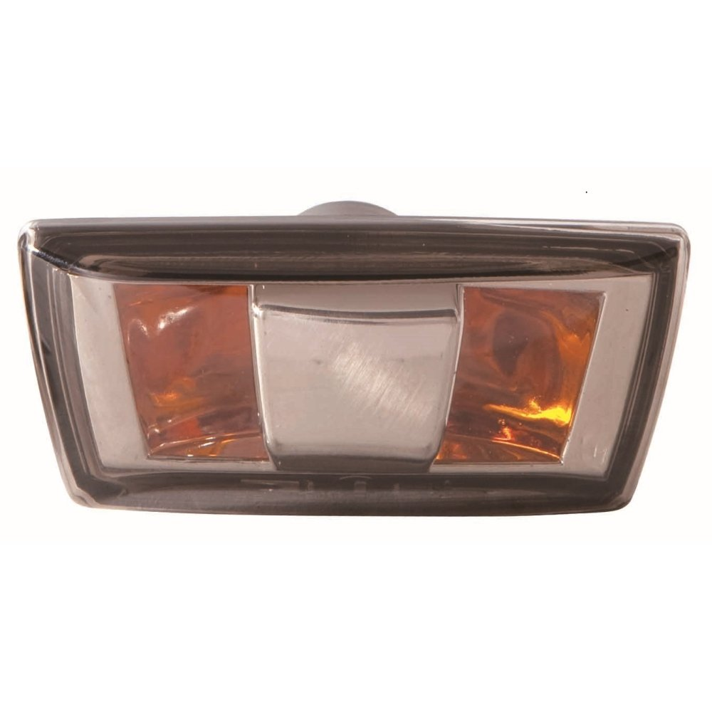 Chrome Edge Vauxhall Insignia Mk.1 08-17 Right Amber Background Side Repeater