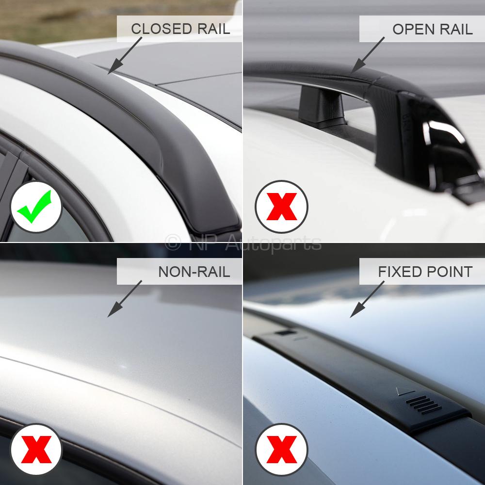 Roof Rack Cross Bars Aluminum Locking fits Seat Leon ST Estate 2013-2019 Estate
