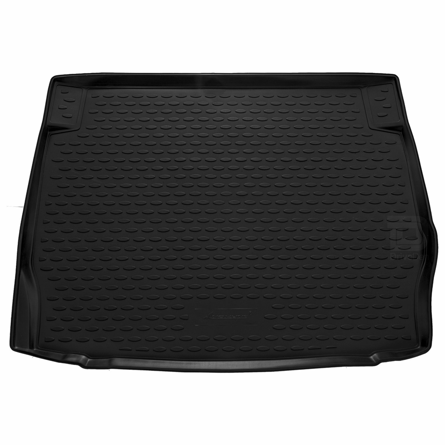 For BMW 1 Series F20 Hatchback Fully Tailored Black Rubber Car Boot Mat
