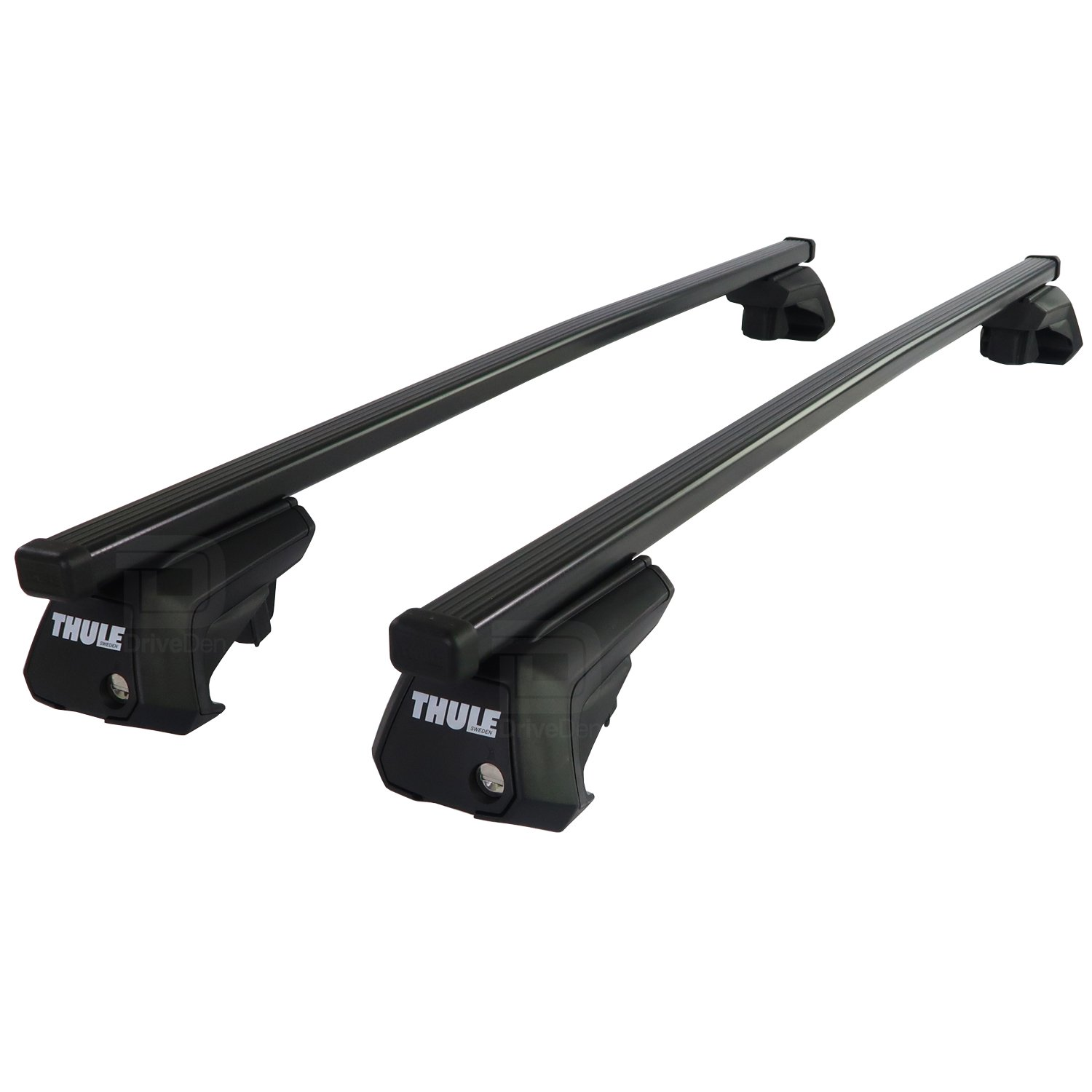 Roof Rack Cross Bars for BMW 3 E90 E91 Touring Estate 05-11 with open roof rails