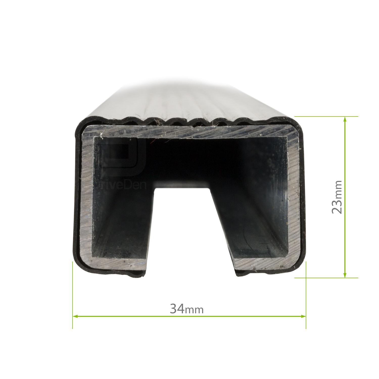 Modula Steel Roof Bars Set Skoda Fabia Mk 2 Hatchback 07