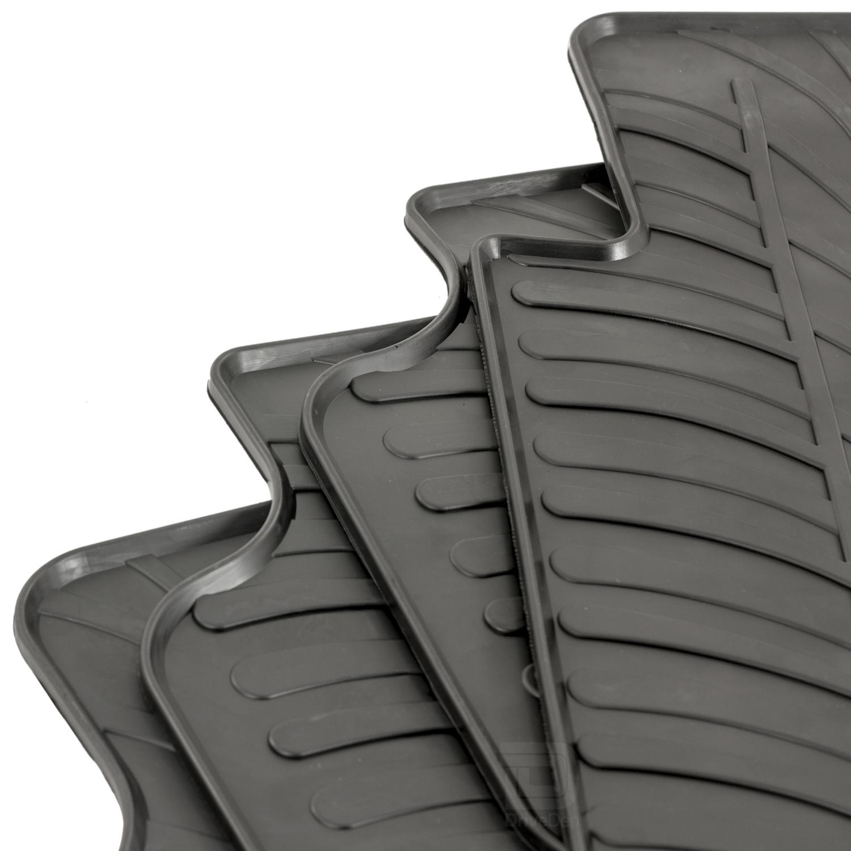 Skoda Octavia Mk.3 Hatchback 13-19 Rubber Boot Liner Fitted Black Floor Mat Tray