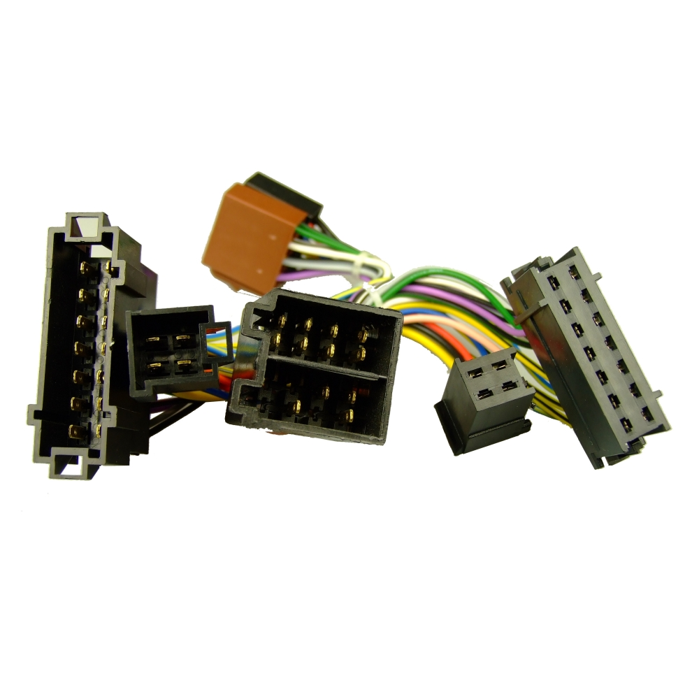 details about mercedes slk (r171) 06-11 parrot lead wiring adaptor audio  gateway only