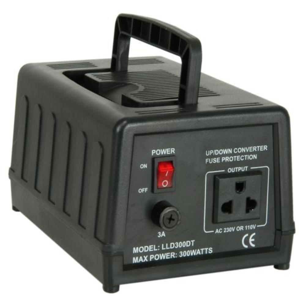 Desktop Voltage Converter 300w 240V to 100-120v US UK UK