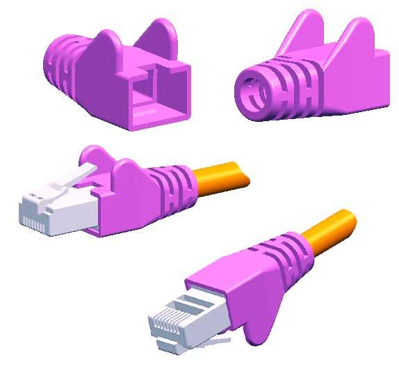 Cable Rj Cat  Violet