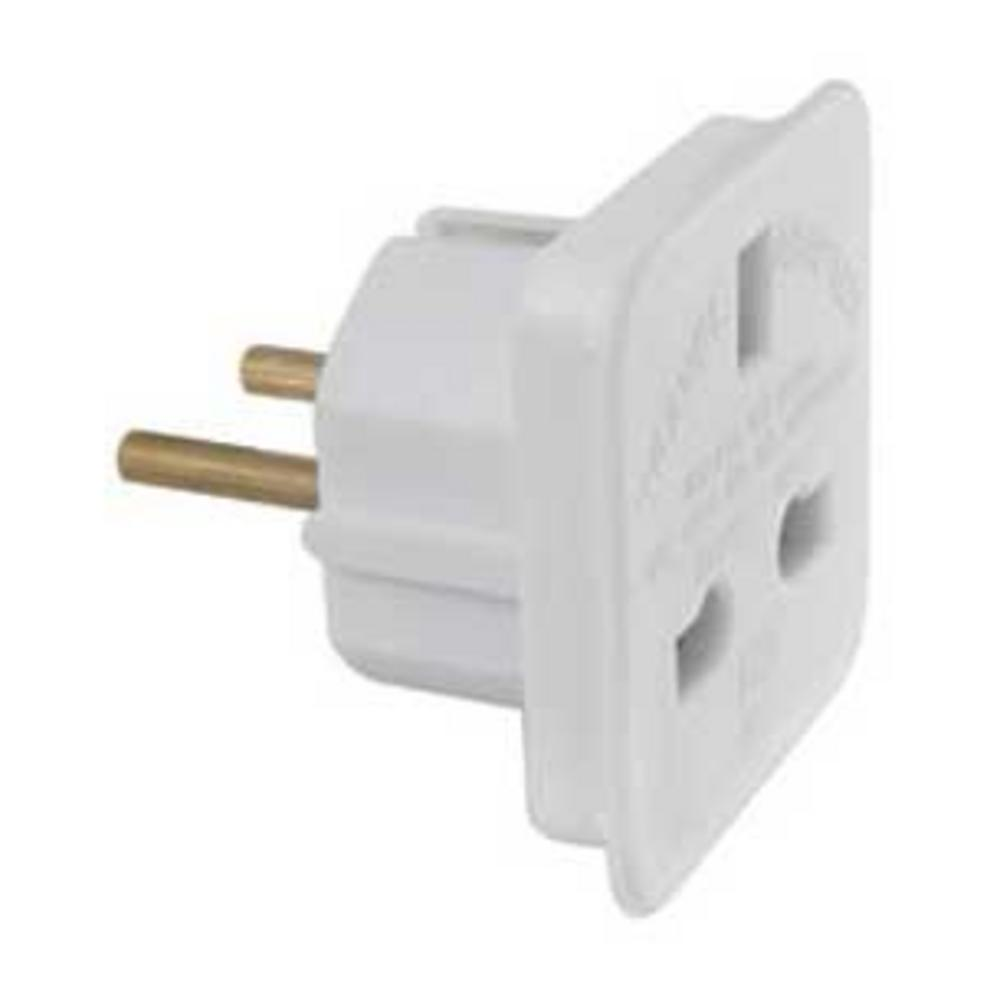 EUROPEAN MAINS TRAVEL ADAPTOR