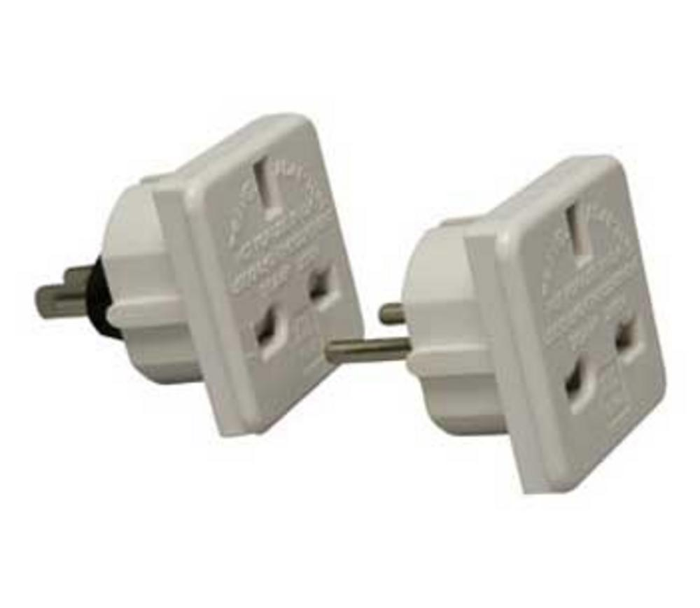 2 PIECE TRANS-WORLD MAINS ADAPTOR KIT