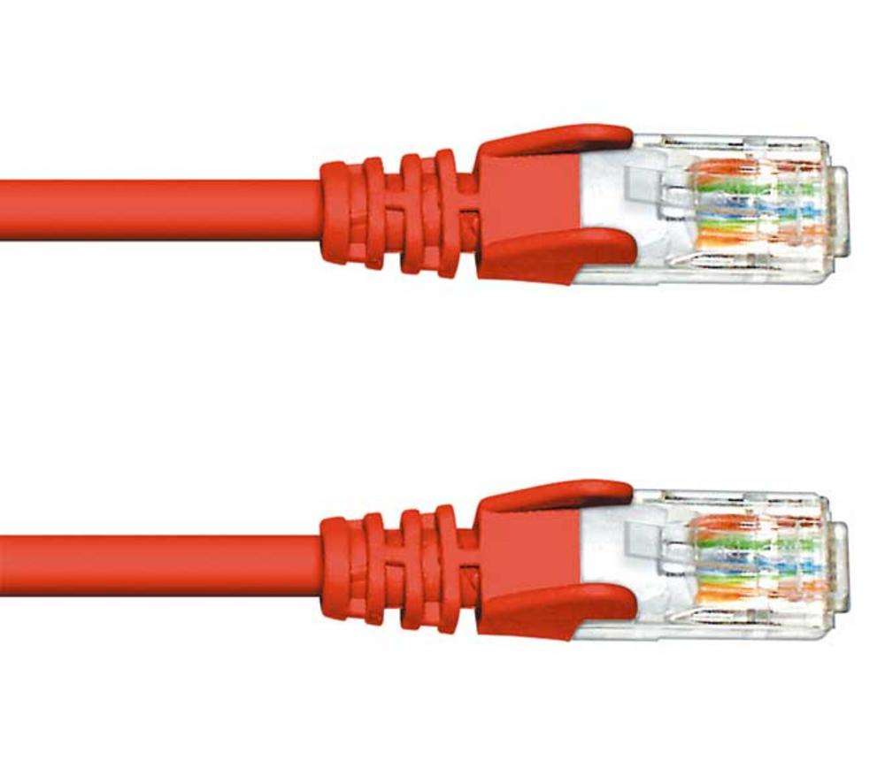 1M CAT 5e UTP PATCH CABLE - RED