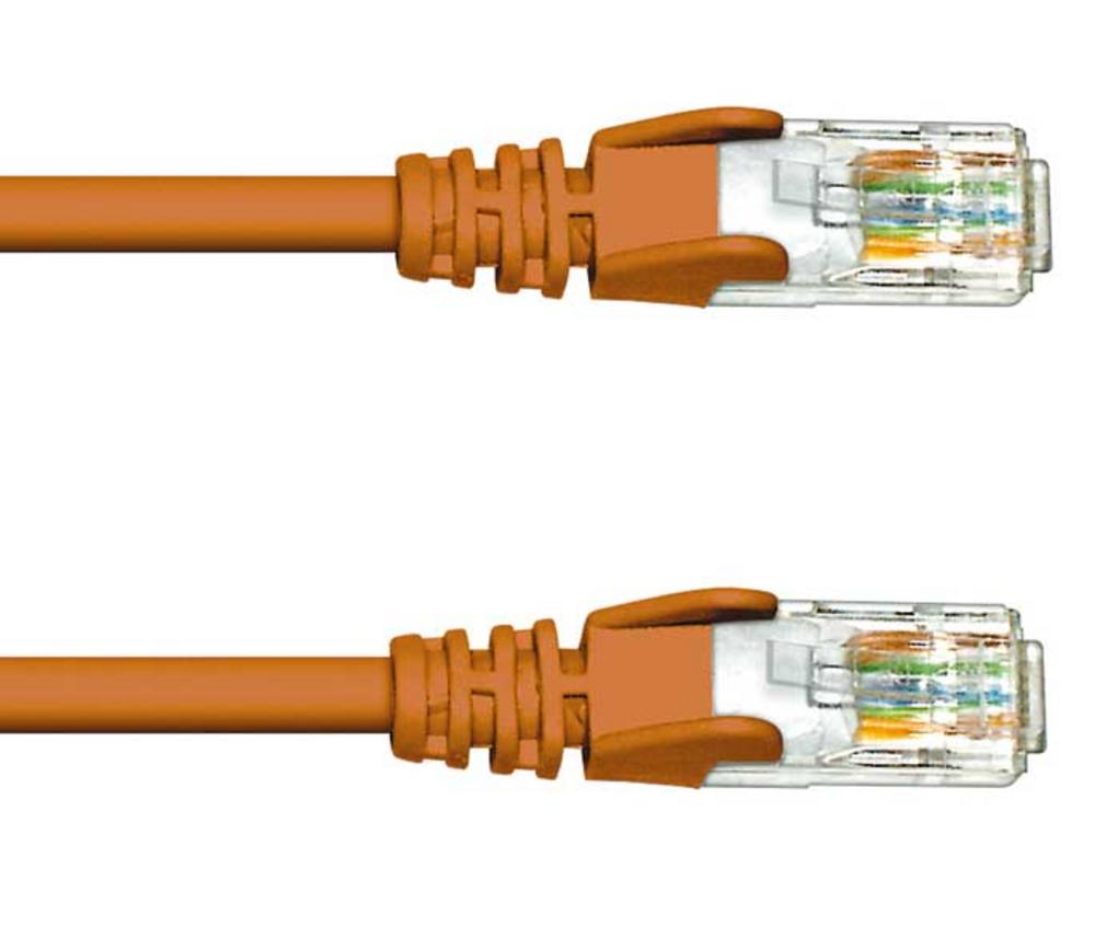 1M CAT5e UTP PATCH CABLE- BROWN
