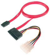SATA POWER & DATA CABLE - 0.75M