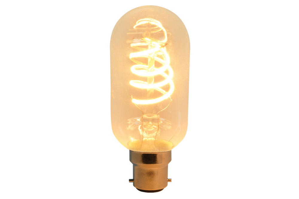 Vintage Decorative T45 Spiral Filament Very Warm White Output Lamp 5W
