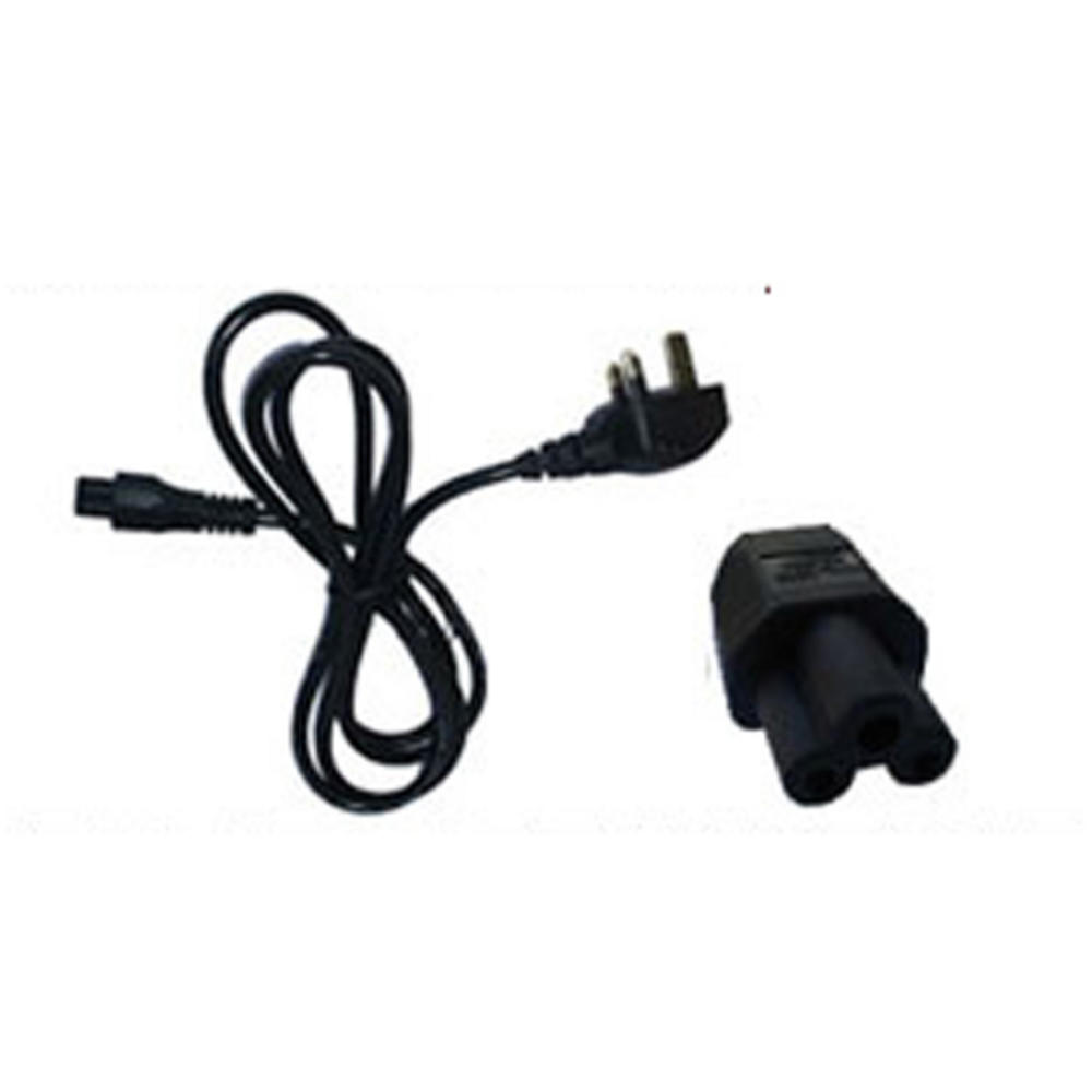Clover Mickey Mouse Laptop Mains Power Cable Lead IEC320 C5 250V AC/2.5A