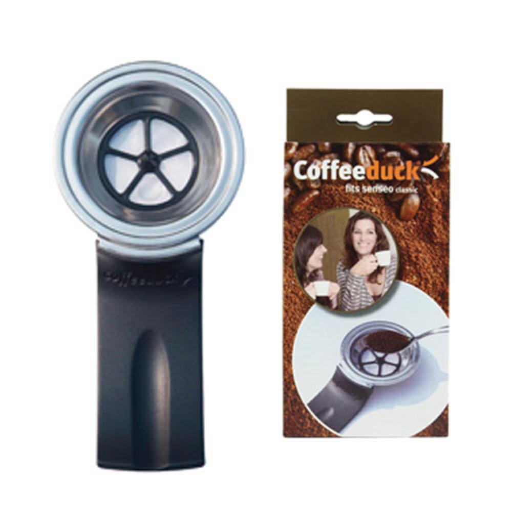 New Coffeeduck Refillable Pod For All Senseo Espresso Classic HD7810 - HD7814 UK