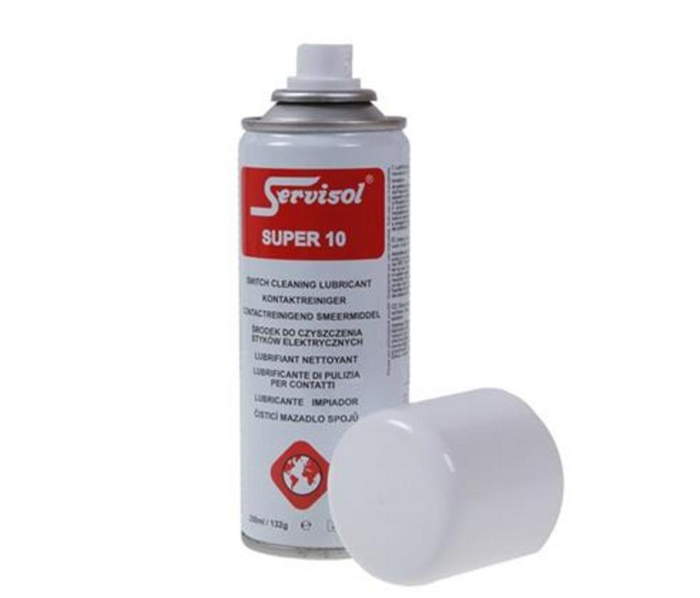 Servisol Super 10 Switch Cleaner Lubrication Film - Protects & Enhances Life UK