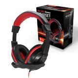 Surround Sound Full Soft Padded Cup 3.5mm Jack Audio Gaming Headphone & Boom MIC