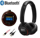 Dynamode DH-101LTX Bluetooth Stereo Headset for Android Smartphone & Tablet