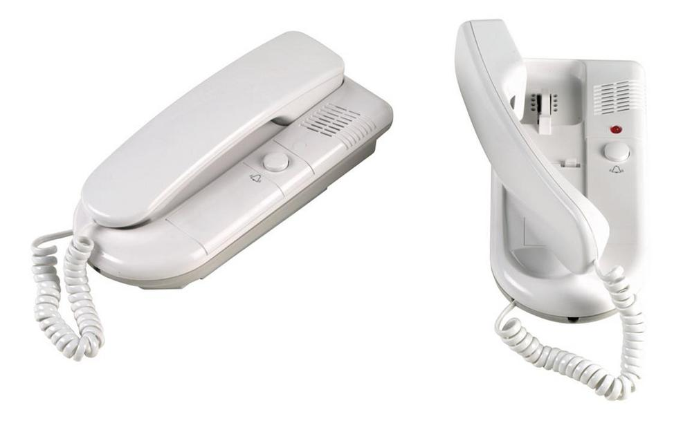 2 Way Telephone Intercom System for Home Security or Office Battery or UK Mains