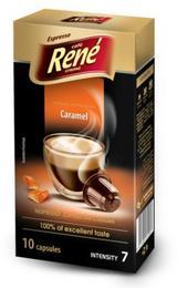 Café Rene Nespresso Compatible Capsules - Caramel 10 Capsules