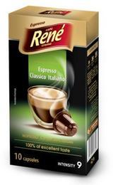 Café Rene Nespresso Compatible Capsules - Italiano 10 Capsules