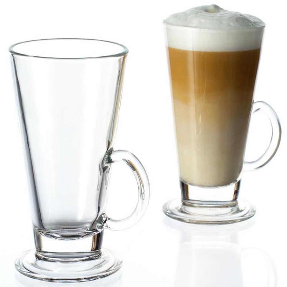 Glass Latte Macchiato Coffee Cup - Twin