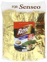 Philips Senseo 100 x Café Rene Crème Malawi Coffee Pads Bags Pods